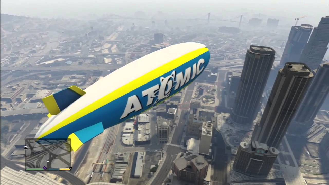 ballon dirigeable gta v ps3