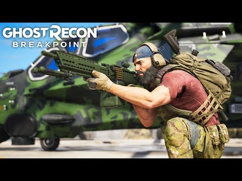 NOMAD'S INSANE LOADOUT In Ghost Recon Breakpoint