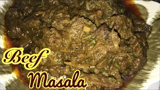 Beef Masala Recipe || How to make beef masala recipe || spicy beef masala