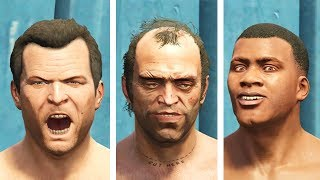GTA 5 - Which Main Character Is The Fastest At Swimming?