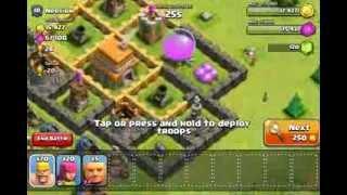 clash of clans raid FAIL!