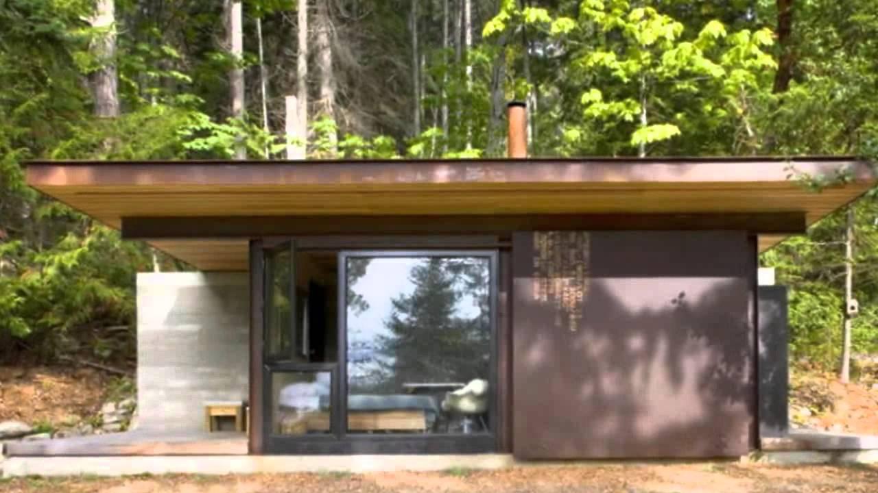 Minimalist Cabin olson kundig's single-room gulf islands cabin is a minimalist