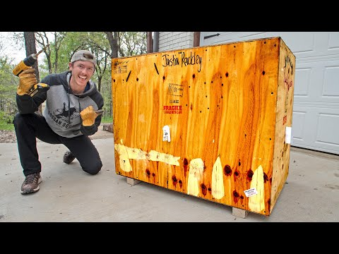 Unboxing My Crate From Africa!