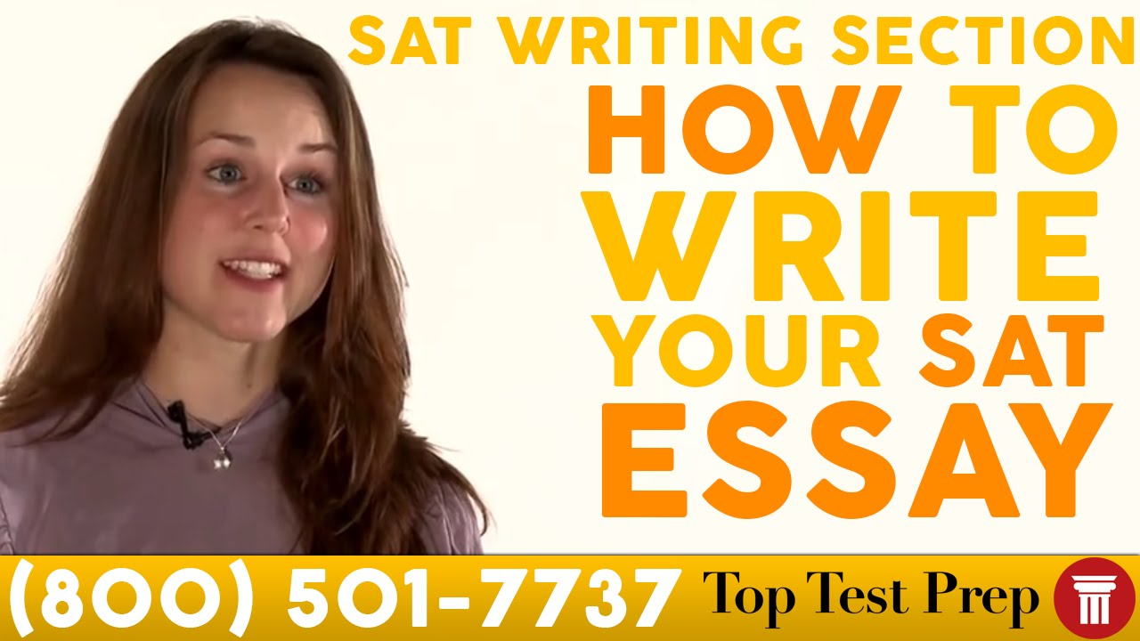 For the SAT Essay part of the Writing section?