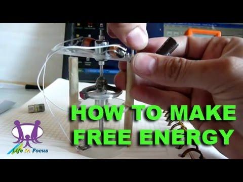 Free energy generator using magnet motor fan i how to make for How to make free energy magnet motor