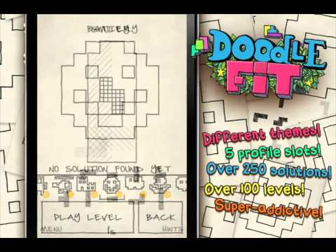 Doodle Fit - In-game Trailer - iPhone iPod Touch