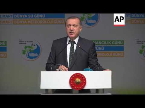 Turkish president Erdogan 'threw Trump's Syria letter in bin'