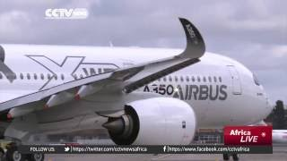 CCTV: Ethiopian Airlines Acquires Eco-friendly Airbus A350 Planes