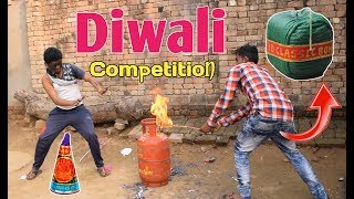 दीपावली दमदार धमाका (World\'s Biggest FireCrackers Battle) || Happy Diwali || Comedy Fukrey
