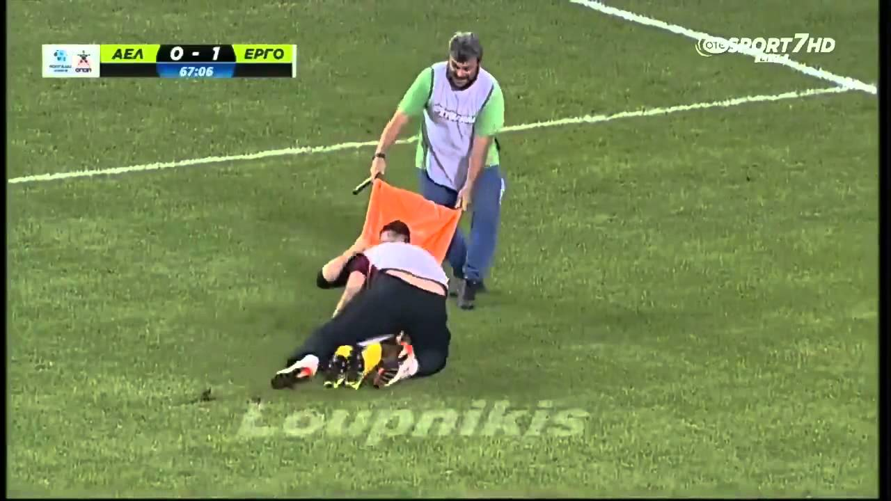 Download AE Larissa vs Ergotelis 2-1, Paramedic fail,