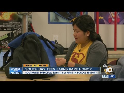 South Bay teen earns perfect AP score
