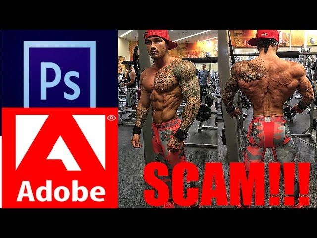 Devin Physique Photoshop and Scamming People | Shredz Athlete