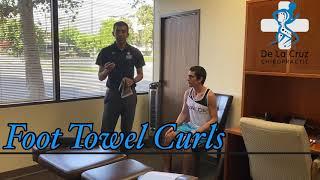 Foot Towel Curls - De La Cruz Chiropractic