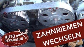 Zahnriemen wechseln mit Wasserpumpe | VW Audi Volvo | Auto Tutorial