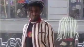 Lil Uzi Vert 'Dancing Very Suspect Backstage'