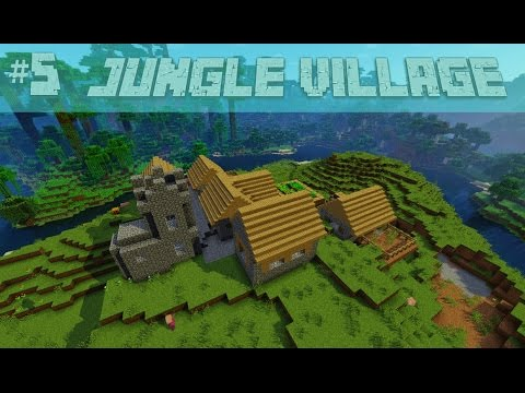 Cool Jungle Village, Jungle Temple Minecraft Seed 1.9.4, 1.9, 1.8.9, 1.7.10