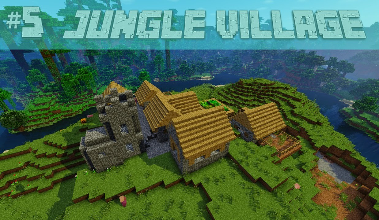 Cool Jungle Village Jungle Temple Minecraft Seed 194 1