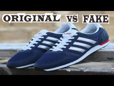 Perbedaan Adidas Neo City Racer Original & Fake
