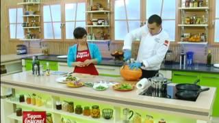 Будет вкусно! 13/12/2013 Каре ягненка с тыквой, баварский салат