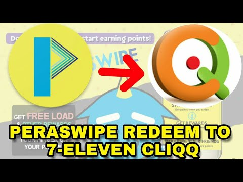 PERASWIPE How To Redeem To (7 ELEVEN CLIQQ) 1st Payout