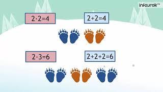 Математика 2 класс, Онлайн урок