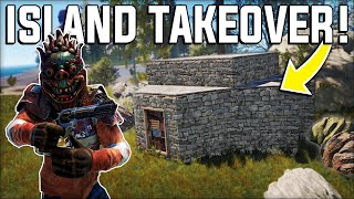TAKING over an ENTIRE RESOURCE RICH ISLAND On WIPE DAY - Rust Vanilla Gameplay Ep 1