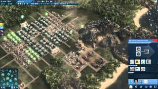ANNO 2070 развитие на сложном уровне за Магнатов (Глобал Траст) #1