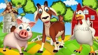 Учим Домашних Животных. Голоса и Звуки Животных Для Детей. Как Говорят Животные