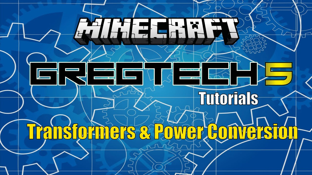 Gregtech 5 - Transformers and Converting Power Tutorial