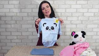 Распаковка заказа детской одежды от ТМ