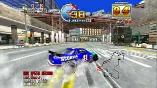 Daytona USA 2 Power Edition - Taking 1st Place on Expert Course