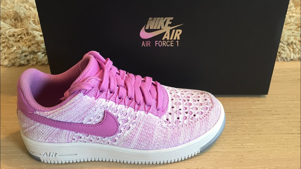 Nike Air Force 1 Pink Unboxing