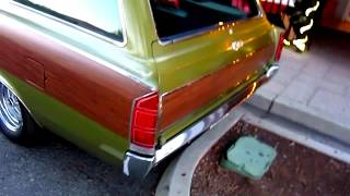 Rare AMC Ambassador station wagon. Very rare survivor.
