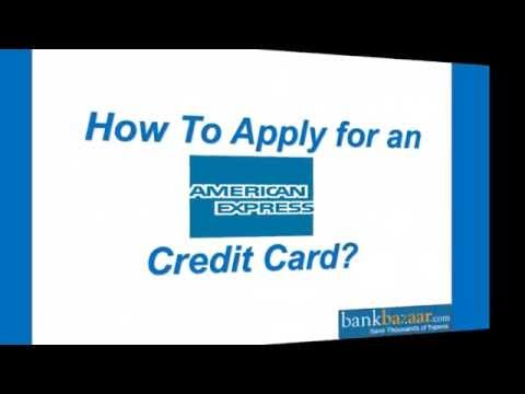 How To Apply For An American Express Credit Card ?