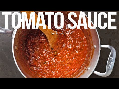 Best Everyday Tomato Sauce Recipe   SAM THE COOKING GUY
