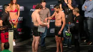UFC Fight Night Saskatoon Official Weigh-in