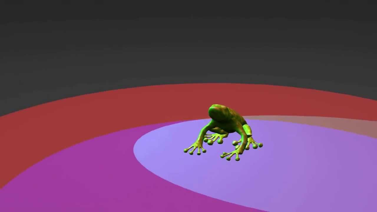 Frog Jump Animation - YouTube
