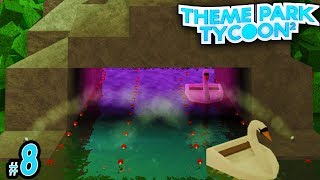 HIDDEN Swan Boat Cave! - TreeHouse Theme Park Tycoon #8 | Roblox