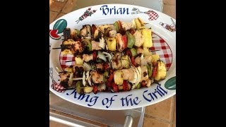 Pineapple Mango Chicken Kabobs  Full