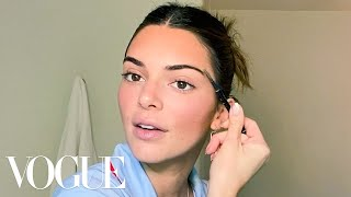 Kendall Jenner's Guide to DIY Face Masks and Bronzed Makeup | Beauty Secrets | Vogue
