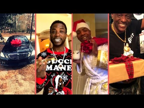 Rappers Christmas 2018 Buy Expensive Cars Gifts Surprises Re