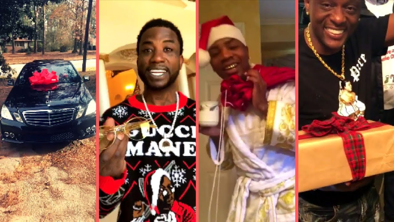 Rappers Christmas 2018 Buy Expensive Cars Gifts Surprises