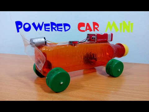 How To Make A Car Very Simple - Powered Car MINI