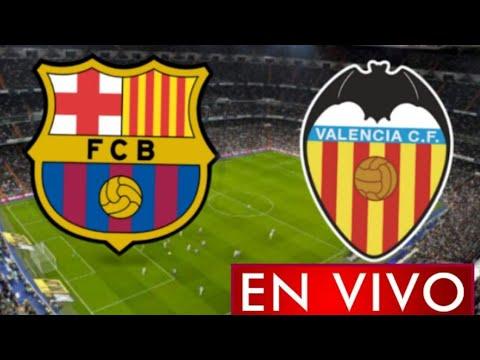 Barcelona vs. Valencia, por La Liga: horario y dnde ver en vivo