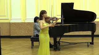 Minchae Kim plays Mozart Violin Concerto No. 1 (1st movement)
