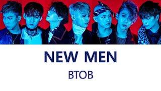 비투비(BTOB) - NEW MEN 가사영상(한국어만)