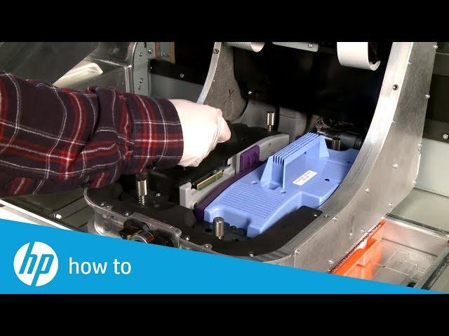 Jak wymienić głowicę w drukarkach 3D HP Jet Fusion 300 oraz 500