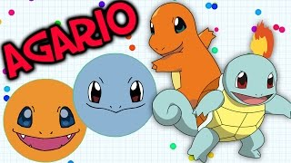 SQUIRTLE SQUIRTLE! | Agario Co-Op (Agar.io Gameplay)