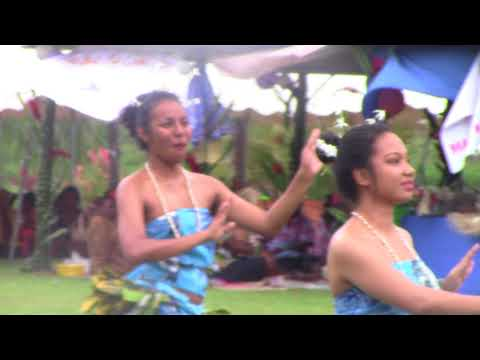 ACS Fiji Adi  Cakobau School culture day 2014 Pacific islanders dance Nauru