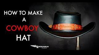 DIY Cowboy Hat - Tutorial and Pattern Download